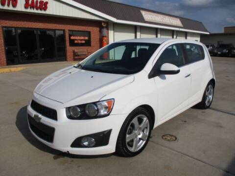 2014 Chevrolet Sonic for sale at Eden's Auto Sales in Valley Center KS