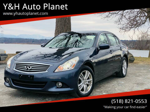 2011 Infiniti G25 Sedan for sale at Y&H Auto Planet in West Sand Lake NY