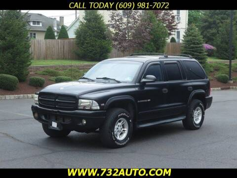 2000 Dodge Durango for sale at Absolute Auto Solutions in Hamilton NJ