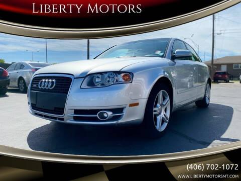 2006 Audi A4 for sale at Liberty Motors in Billings MT