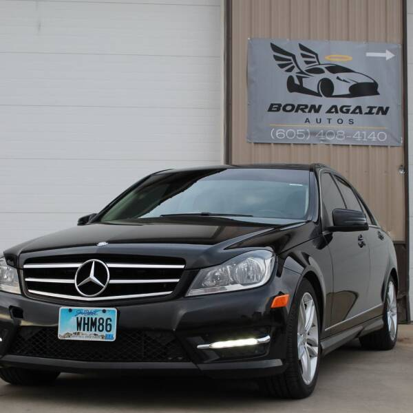 2014 Mercedes-Benz C-Class for sale at Born Again Auto's in Sioux Falls SD