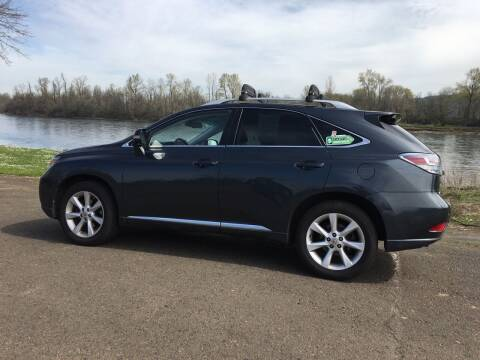 2010 Lexus RX 350 for sale at M AND S CAR SALES LLC in Independence OR