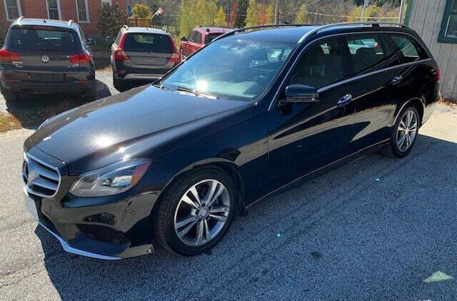 2014 Mercedes-Benz E-Class for sale at Past & Present MotorCar in Waterbury Center	 VT