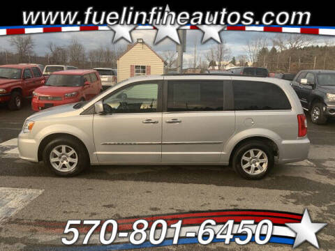 2012 Chrysler Town and Country for sale at FUELIN FINE AUTO SALES INC in Saylorsburg PA