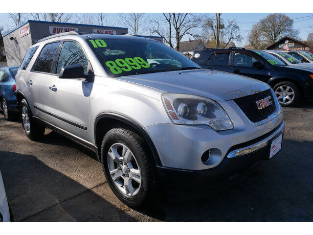 2010 GMC Acadia for sale at M & R Auto Sales INC. in North Plainfield NJ