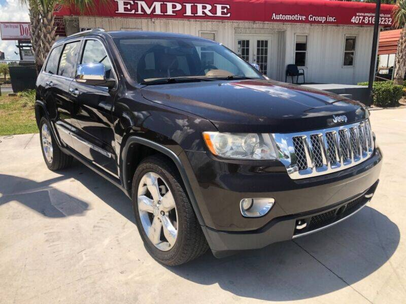 2012 Jeep Grand Cherokee for sale at Empire Automotive Group Inc. in Orlando FL