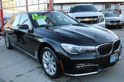 2018 BMW 7 Series for sale at LIBERTY AUTOLAND INC - LIBERTY AUTOLAND II INC in Queens Villiage NY