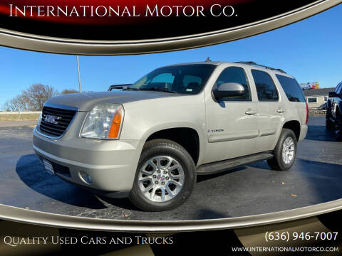 2009 GMC Yukon for sale at International Motor Co. in St. Charles MO