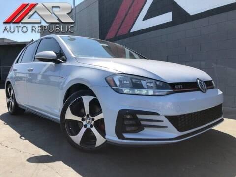 2018 Volkswagen Golf GTI for sale at Auto Republic Fullerton in Fullerton CA