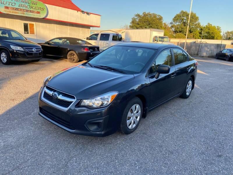 2014 Subaru Impreza for sale at Premium Auto Brokers in Virginia Beach VA