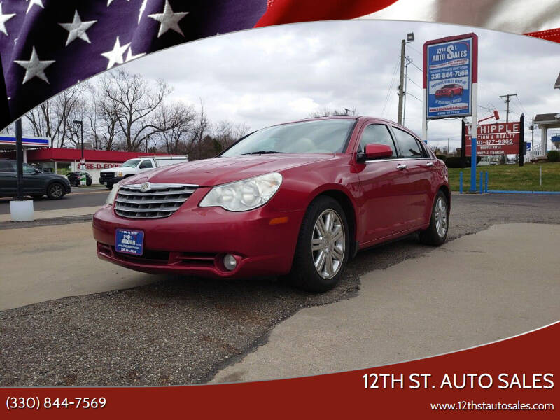 2009 Chrysler Sebring for sale at 12th St. Auto Sales in Canton OH