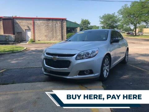 2014 Chevrolet Malibu for sale at Stryker Auto Sales in South Elgin IL