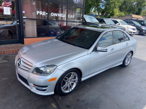 2013 Mercedes-Benz C-Class for sale at Kings Auto Group in Tampa FL