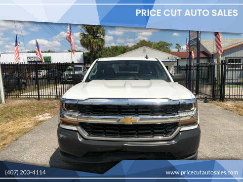 2016 Chevrolet Silverado 1500 for sale at Price Cut Auto Sales in Orlando FL