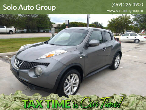 2012 Nissan JUKE for sale at Solo Auto Group in Mckinney TX