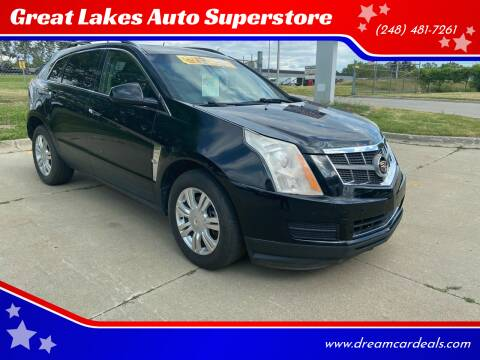 2012 Cadillac SRX for sale at Great Lakes Auto Superstore in Pontiac MI