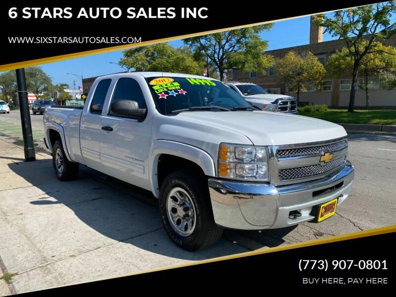 2012 Chevrolet Silverado 1500 for sale at 6 STARS AUTO SALES INC in Chicago IL