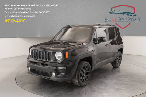 2019 Jeep Renegade for sale at Elvis Auto Sales LLC in Grand Rapids MI