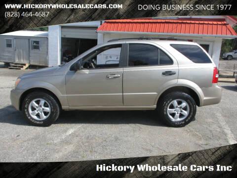 2007 Kia Sorento for sale at Hickory Wholesale Cars Inc in Newton NC