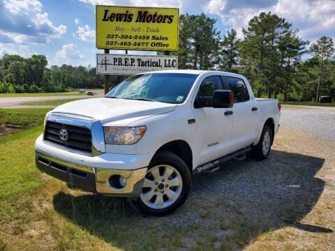 2008 Toyota Tundra for sale at Lewis Motors LLC in Deridder LA
