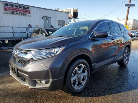 2017 Honda CR-V for sale at MENNE AUTO SALES in Hasbrouck Heights NJ