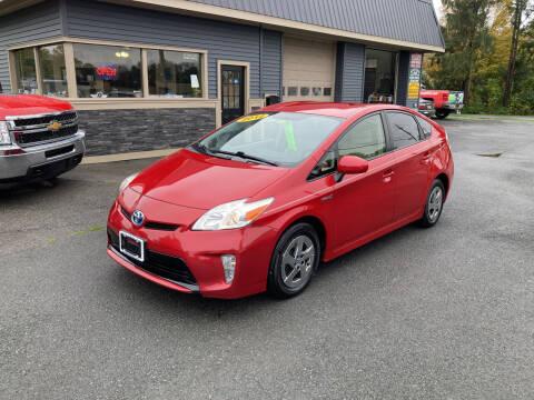 2012 Toyota Prius for sale at JERRY SIMON AUTO SALES in Cambridge NY