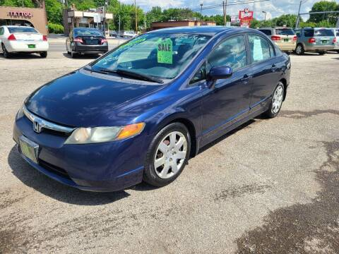 2002 Honda Civic for sale at Johnny's Motor Cars in Toledo OH