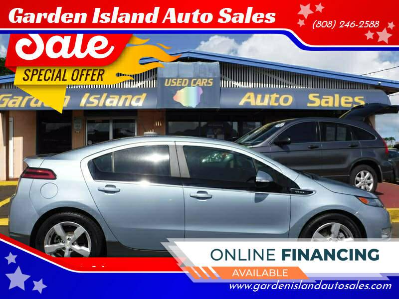 2015 Chevrolet Volt for sale at Garden Island Auto Sales in Lihue HI