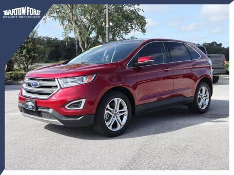 2018 Ford Edge for sale at BARTOW FORD CO. in Bartow FL