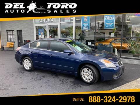 2009 Nissan Altima for sale at DEL TORO AUTO SALES in Auburn WA