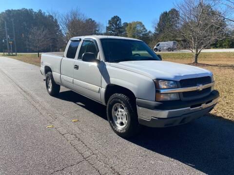 2004 Chevrolet Silverado 1500 for sale at Front Porch Motors Inc. in Conyers GA
