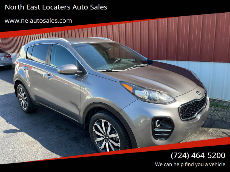 2017 Kia Sportage for sale at North East Locaters Auto Sales in Indiana PA
