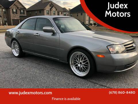 2003 Infiniti M45 for sale at Judex Motors in Loganville GA