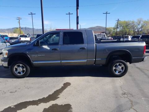 2006 Dodge Ram Pickup 3500 for sale at Freds Auto Sales LLC in Carson City NV