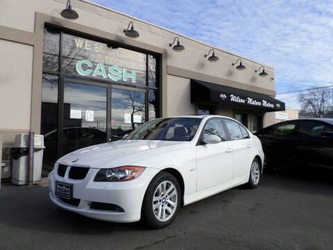 2007 BMW 3 Series for sale at Wilson-Maturo Motors in New Haven Ct CT
