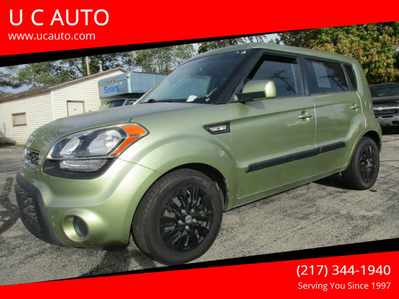 2012 Kia Soul for sale at U C AUTO in Urbana IL