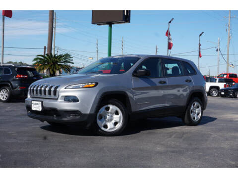 2017 Jeep Cherokee for sale at Maroney Auto Sales in Humble TX