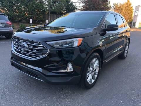 2020 Ford Edge for sale at Pleasant Auto Group in Chantilly VA