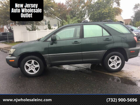 1999 Lexus RX 300 for sale at New Jersey Auto Wholesale Outlet in Union Beach NJ