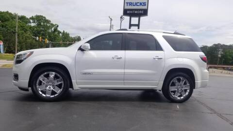 2016 GMC Acadia for sale at Whitmore Chevrolet in West Point VA