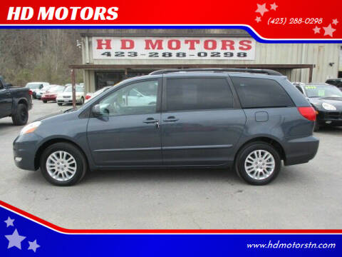 2008 Toyota Sienna for sale at HD MOTORS in Kingsport TN