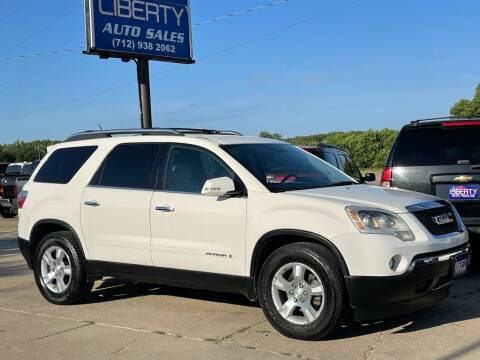 2007 GMC Acadia for sale at Liberty Auto Sales in Merrill IA