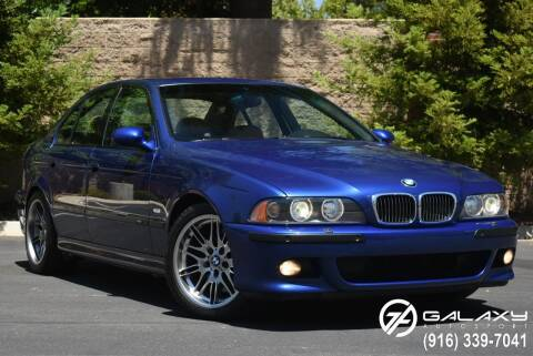 2001 BMW M5 for sale at Galaxy Autosport in Sacramento CA