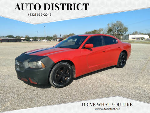 2012 Dodge Charger for sale at Auto District in Baytown TX
