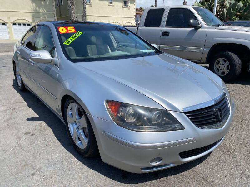 2005 Acura RL for sale at North County Auto in Oceanside CA