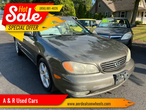 2002 Infiniti I35 for sale at A & R Used Cars in Clayton NJ