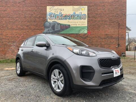 2017 Kia Sportage for sale at Priority One Auto Sales in Stokesdale NC