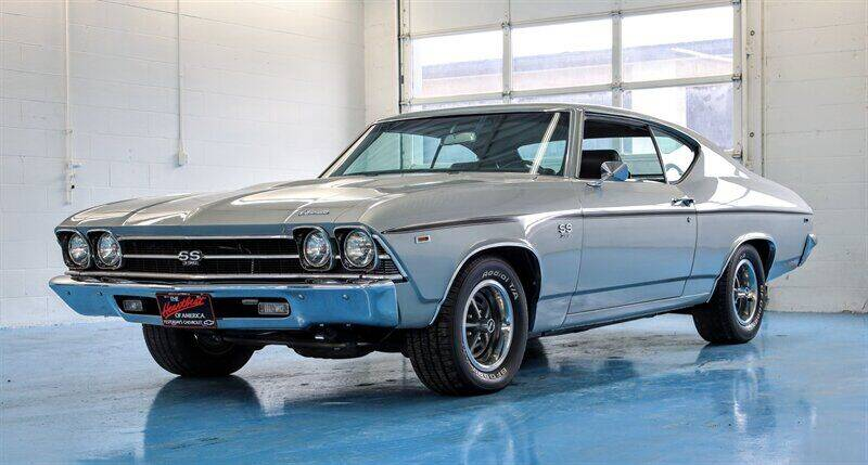 1969 Chevrolet Chevelle for sale at Mershon's World Of Cars Inc in Springfield OH