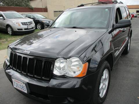 2010 Jeep Grand Cherokee for sale at F & A Car Sales Inc in Ontario CA
