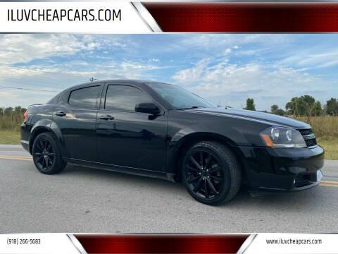 2014 Dodge Avenger for sale at ILUVCHEAPCARS.COM in Tulsa OK